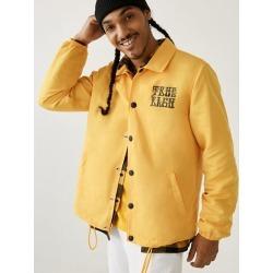 Coach Jacket | Mustard | Size 3X Large | True Religion found on MODAPINS from True Religion for USD $104.30