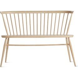 Originals Loveseat Bench, Tan by Design Within Reach