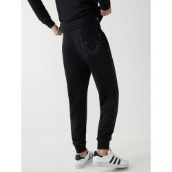 Men's Classic Logo Jogger Pant | Black | Size X Large | True Religion