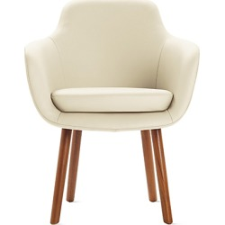 Geiger Saiba Dining Chair, Ivory at DWR