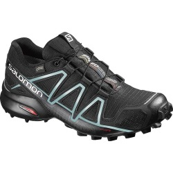 Salomon Women's SpeedCross 4 GTX Trail Running Shoes - Black