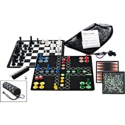 Outside Inside Back Pack Roll-Up 5 in 1 Game Set