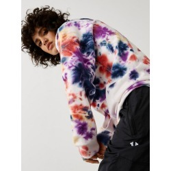 Women's Tie Dye Hoodie | Multi | Size XX Large | True Religion