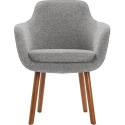 Geiger Saiba Dining Chair, Grey at DWR
