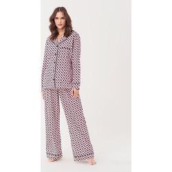 DVF Cotton Pajama Set