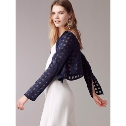 DVF Cropped Fitted Jacket