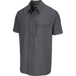 McKINLEY Men's Moonta Short Sleeve Shirt - Black