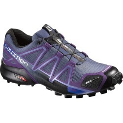 Salomon Women's SpeedCross 4 CS Trail Running Shoes - Purple/Black