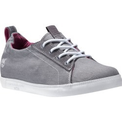 Timberland Women's Newport Bay Canvas Chukka Shoes - Gray