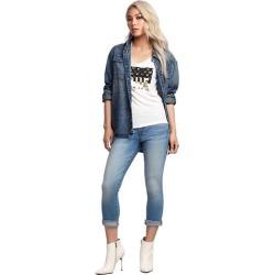 Women's Jennie Curvy Contour Capri   Ftpl   Size 27   True Religion found on Bargain Bro India from True Religion for $199.00
