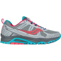 Saucony Women's Excursion TR10 Trail Running Shoes - Grey/Coral Pink/Blue found on Bargain Bro Philippines from atmosphere.ca for $62.44