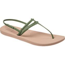 Reef Women's Escape Lux T Strap Sandals - Olive