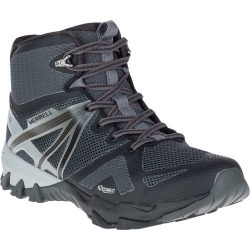 Merrell Men's MQM Flex Mid Waterproof Hiking Boots - Black found on Bargain Bro India from atmosphere.ca for $94.25