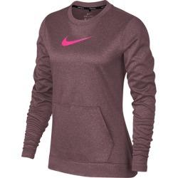 Nike Women's Therma Long Sleeve Top  - BURG S