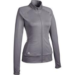 Adidas Women's Rangewear Full-Zip Long Sleeve Top - GREEN LARGE