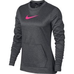 Nike Women's Therma Long Sleeve Top  - Charcoal S