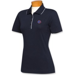 Cutter & Buck Boise State Broncos Womens Cutter Tipped Polo