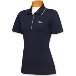 Cutter & Buck Denver Broncos Womens Cutter Tipped Polo