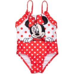 Disney  Minnie Mouse 1-Piece Swimsuit Toddler Girls