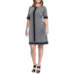 Michael Kors Plus Size Stingray Print Shift Dress