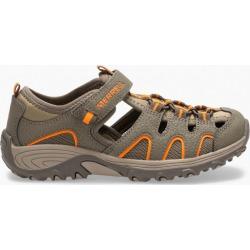 Merrell Kid's Hydro H2O Hiker Sandal, Size: 11, Gunsmoke/Orange found on Bargain Bro Philippines from Merrell for $45.00