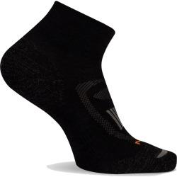 Merrell Women's Zoned Hiker Quarter Cut Sock, Size: S/M, Onyx found on Bargain Bro from Merrell for USD $12.16
