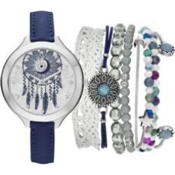 Jessica Carlyle  Women's Dreamcatcher Watch and Bracelet Set