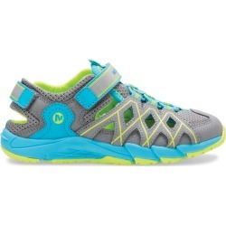 Merrell Kid's Hydro Quench Sandal, Size: 5, Grey/Turquoise found on Bargain Bro Philippines from Merrell for $50.00