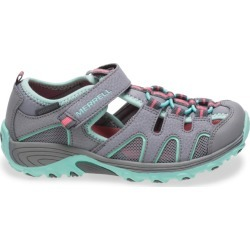 Merrell Kid's Hydro H2O Hiker Sandal, Size: 2, Grey/Turquoise found on Bargain Bro Philippines from Merrell for $45.00