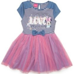 Disney  Minnie Mouse 'Love' Dress Girls 4-6x