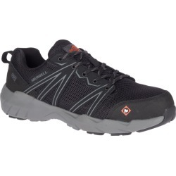 Merrell Fullbench Superlite Alloy Toe SD+ Work Shoe, Size: 7.5, Black found on Bargain Bro from Merrell for USD $83.60