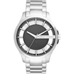 Armani Exchange AX  Men's Hampton Three-Hand Stainless Steel Watch