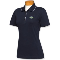 Cutter & Buck NFC Champions Seattle Seahawks Womens Cutter Tipped Polo
