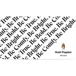 Hush Puppies Hush Puppies Gift Card Gift Card, Size, Gift Card found on Bargain Bro India from Hush Puppies for $50.00