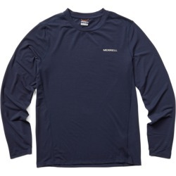 Merrell Men's Tencel Long Sleeve Tee, Size: XL, Navy found on Bargain Bro from Merrell for USD $34.20
