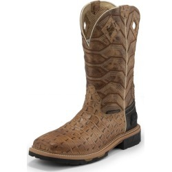 JOW Mens WP Derrickman Caramel Croc Boots 7 D found on Bargain Bro India from Horse.com for $179.95
