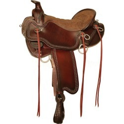 Tucker Pine Ridge Mule Wide Tree Saddle 16.5in found on Bargain Bro India from StateLineTack.com for $1950.00
