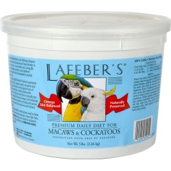 Lafeber Macaw/Cockatoo Pellets Bird Food 25lb