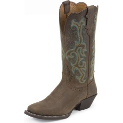 Justin Ladies Stampede Sq Toe Sorrel Boots 6 found on Bargain Bro India from StateLineTack.com for $142.18