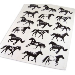 Stampede Off White Kitchen Towel found on Bargain Bro Philippines from Horse.com for $7.74