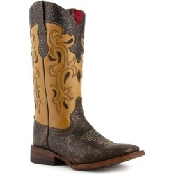 Ferrini Ladies Shimmer Sq Boots 8 B Turquoise found on Bargain Bro India from StateLineTack.com for $209.99