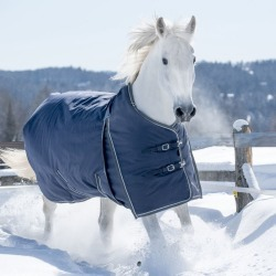 Lami-Cell Pro-Fit Turnout Blanket 300g 66 Navy/Gra found on Bargain Bro from Horse.com for USD $182.39