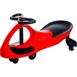 Lil Rider Red Wiggle Ride-On Car Red