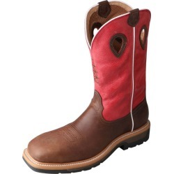 Twisted X Mens Lite Cowboy Red Work Boots 14D found on Bargain Bro Philippines from Horse.com for $215.95