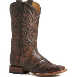 Roper Ladies Sami Saddle Vamp Sq Brown Boots 9 found on Bargain Bro India from StateLineTack.com for $313.99