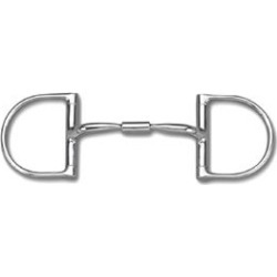 Myler SS Dee Comfort Snaffle Wide Barrel Bit 5.5 found on Bargain Bro Philippines from Horse.com for $113.95