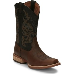 Justin Mens Cowman Square Toe Boots 7.5 EE Brown found on Bargain Bro India from Horse.com for $168.85
