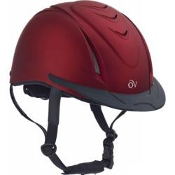 Ovation Metallic Schooler Helmet LG/XL Red