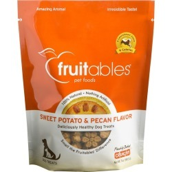 Fruitables Oven Baked Sweet Potato/Pecan Dog Treat found on Bargain Bro from StateLineTack.com for USD $7.02