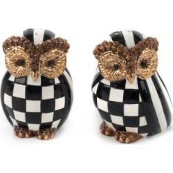 MacKenzie-Childs Owl Salt & Pepper Set